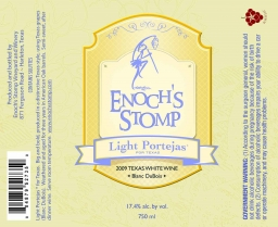 Light Portejas label